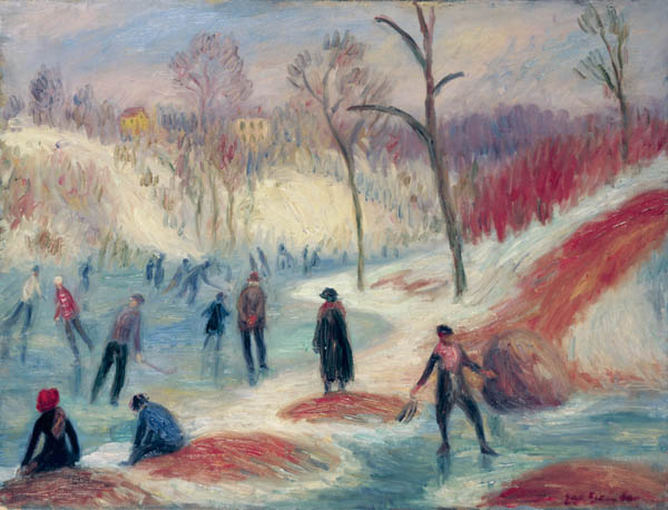 Clove Pond by William James Glackens