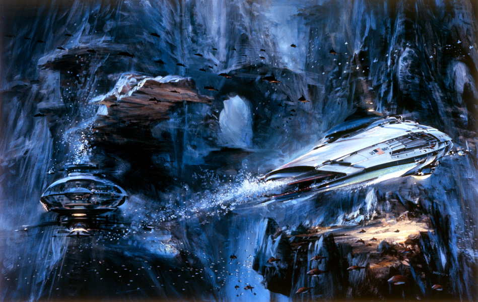 The Navy of the Future – Subsurface by John Berkey